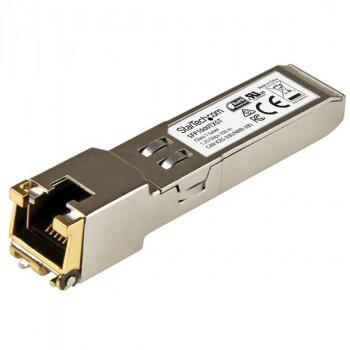StarTech.com 1000BASE-TX MSA Compliant SFP Module - RJ45 Connector - Copper SFP Transceiver - Lifetime Warranty - 1 Gbps