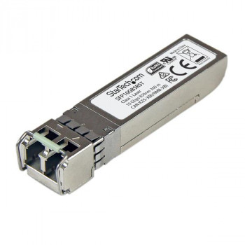 StarTech.com 10GBASE-SR MSA Compliant SFP+ Module - LC Connector - Fiber SFP+ Transceiver - Lifetime Warranty - 10 Gbps