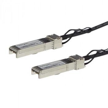 StarTech.com MSA Compliant SFP+ Direct-Attach Twinax Cable - 0.5 m (1.6 ft) - Passive DAC Copper Cable - Mini-GBIC Cable