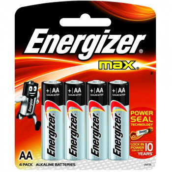 Energizer AA LR6 Max Alkaline Battery