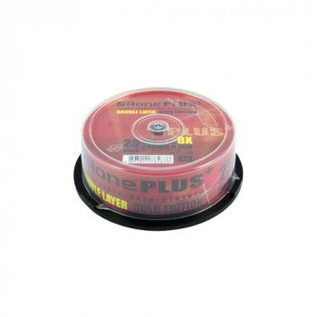 Aone DVD+R 8X 8.5GB Dual Layer 25PK Logo