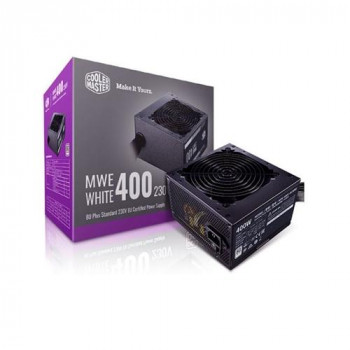Cooler Master 400W ATX Power Supply - MWE 400 230V V2 - (Active PFC/80 PLUS White)