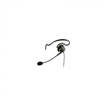 Jabra GN 2100 Wired Mono Headset - Over-the-ear, Behind-the-neck, Over-the-head - Semi-open
