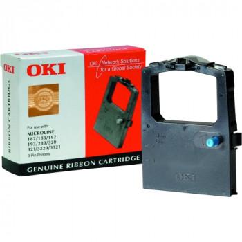 Oki 09002303 Ribbon - Black