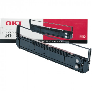 Oki 09002308 Ribbon - Black