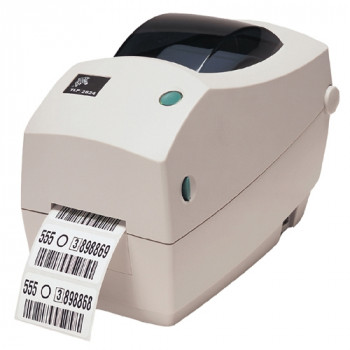 Zebra TLP 2824 Plus Direct Thermal/Thermal Transfer Printer - Monochrome - Desktop - Label Print