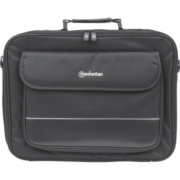 """Manhattan Empire 421560 Carrying Case (Briefcase) for 43.2 cm (17"""") Notebook, Business Card, ID Card, File Folder, Pen, Accessories, Cable - Black"""