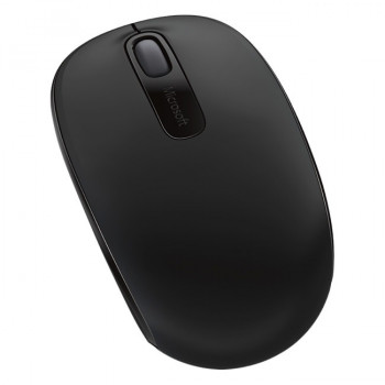 Microsoft Wireless Mobile 1850 Mouse - Optical - Wireless - 3 Button(s) - Black