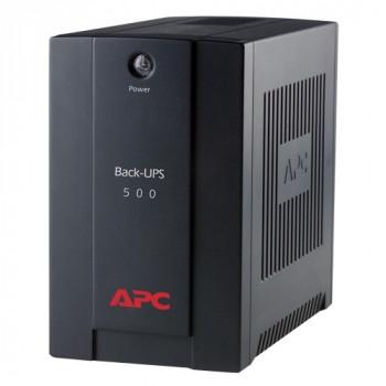 APC Back-UPS Line-interactive UPS - 500 VA/300 W