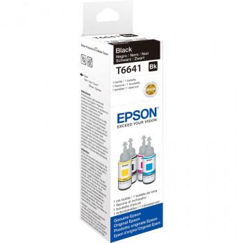 Epson T6641 Ink Refill Kit - Black - Inkjet