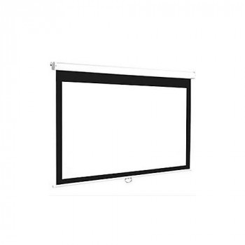 "Euroscreen Connect C1617-W Manual Projection Screen - 172.7 cm (68"") - 16:9 - Wall Mount, Ceiling Mount"