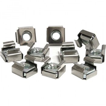 StarTech.com 50 Pkg M6 Cage Nuts for Server Rack Cabinet