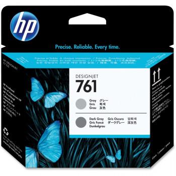 HP 761 Printhead - Grey, Dark Grey