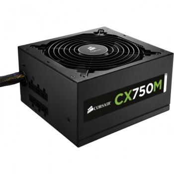 Corsair CX750M ATX12V & EPS12V Power Supply - 85% Efficiency - 750 W