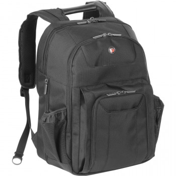 "Targus Corporate Traveller CUCT02BEU Carrying Case (Backpack) for 39.1 cm (15.4"") Notebook - Black"