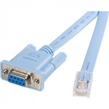 StarTech.com Cisco console router cable - RJ45 (m) - DB9 (f) - 6 ft