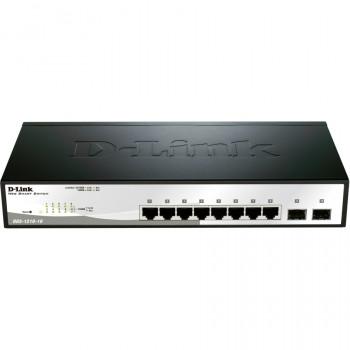 D-Link WebSmart DGS-1210-10 8 Ports Manageable Ethernet Switch