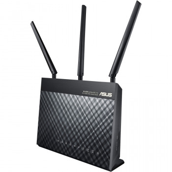 Asus DSL-AC68U IEEE 802.11ac Ethernet, ADSL2+, VDSL2 Modem/Wireless Router