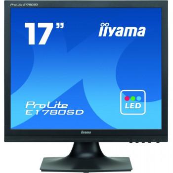 "iiyama ProLite E1780SD 43.2 cm (17"") CCFL LCD Monitor - 5:4 - 5 ms"