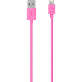 Belkin MIXIT↑ Lightning/USB Data Transfer Cable for iPhone, iPod, iPad, Notebook - 1.20 m