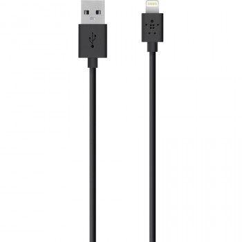 Belkin MIXIT↑ Lightning/USB Data Transfer Cable for iPad, iPod, iPod, Notebook - 2 m - 1 Pack