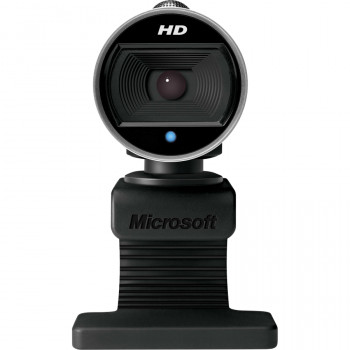 Microsoft LifeCam Webcam - 30 fps - Black, Grey - USB 2.0
