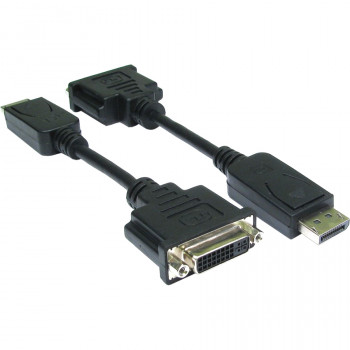Cables Direct HDHDPORT-001CAB DisplayPort/DVI Video Cable for Monitor, TV - Shielding