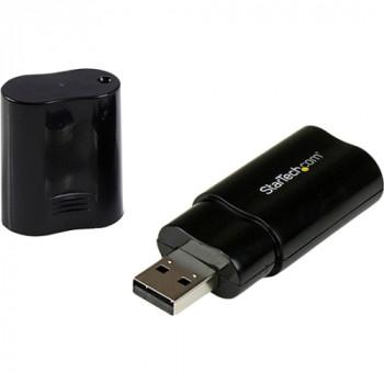 StarTech.com USB Stereo Audio Adapter External Sound Card