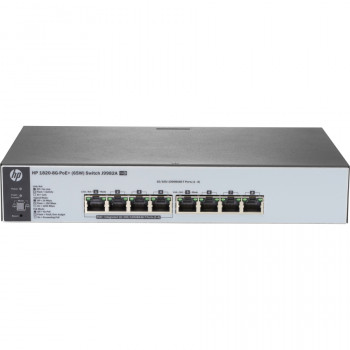 HP 1820-8G-PoE+ (65W) 8 Ports Manageable Ethernet Switch