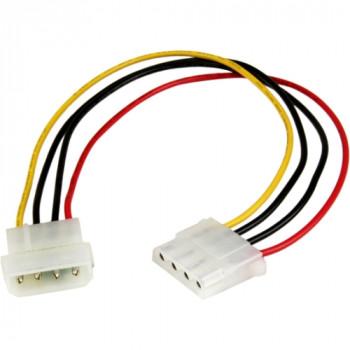 StarTech.com 12in Molex LP4 Power Extension Cable - M/F