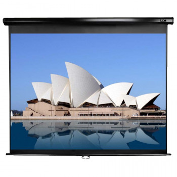 """Elite Screens M100NWV1 Manual Projection Screen - 254 cm (100"""") - 4:3 - Wall Mount, Ceiling Mount"""