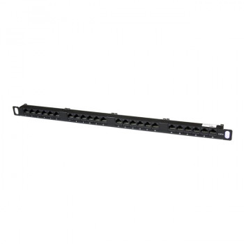 StarTech.com 24 Port 0.5U Cat5e Patch Panel - RJ45 Ethernet Rackmount Cat 5e 110 Patch Panel