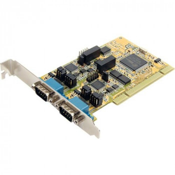 StarTech.com 2 Port RS232/422/485 PCI Serial Adapter w/ ESD