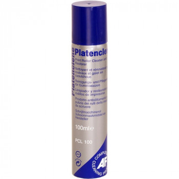 AF Platenclene PCL100 Cleaning Spray for Printer, Fax Machine, Copier, Scanner