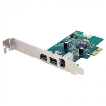 StarTech.com 3 Port 2b 1a 1394 PCI Express FireWire Card Adapter