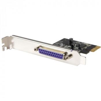 StarTech.com 1 Port PCI Express Dual Profile Parallel Adapter Card - SPP/EPP/ECP