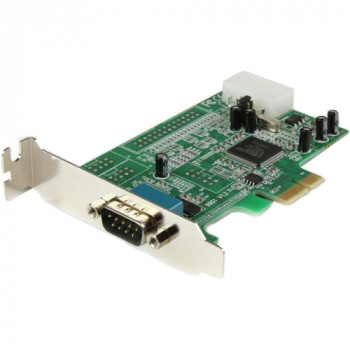 StarTech.com 1 Port Low Profile Native RS232 PCI Express Serial Card with 16550 UART