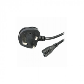 StarTech.com 6 ft Laptop Power Cord 2 Slot for UK