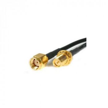 StarTech.com RPSMA10MF 10ft RP-SMA to SMA Antenna Adapter Cable