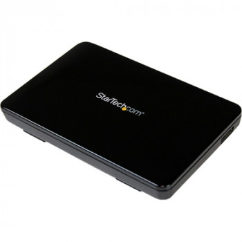 StarTech.com 2.5in USB 3.0 External SATA III SSD Hard Drive Enclosure with UASP - Portable External HDD