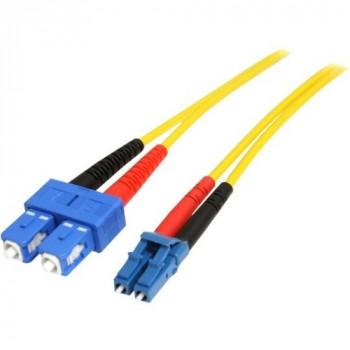 StarTech.com 10m Single Mode Duplex Fiber Patch Cable LC-SC