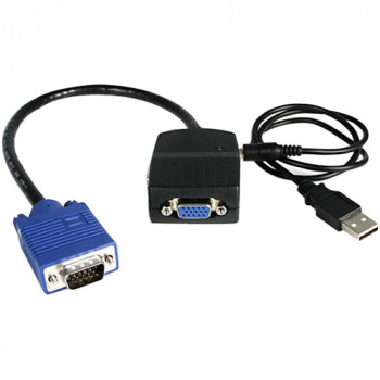 StarTech.com 2 Port VGA Video Splitter - USB Powered