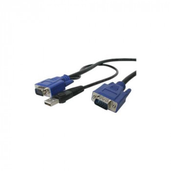 StarTech.com 10 ft Ultra Thin USB VGA 2-in-1 KVM Cable