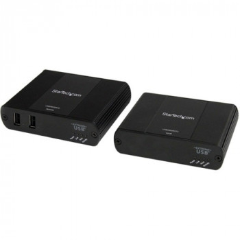 StarTech.com 2 Port USB 2.0 Extender over Cat5 or Cat6 - Up to 330 ft (100m)