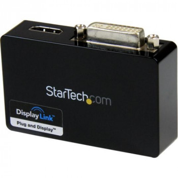 StarTech.com USB 3.0 to HDMI? and DVI Dual Monitor External Video Card Adapter