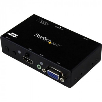 StarTech.com 2x1 HDMI + VGA to HDMI Converter Switch w/ Automatic and Priority Switching - 1080p