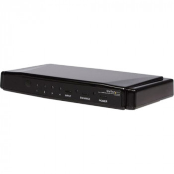 StarTech.com 4-to-1 HDMI Video Switch with Remote Control