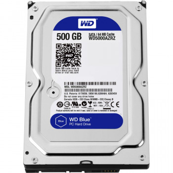 "WD Blue WD5000AZRZ 500 GB 3.5"" Internal Hard Drive"