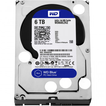 "WD Blue WD60EZRZ 6 TB 3.5"" Internal Hard Drive"