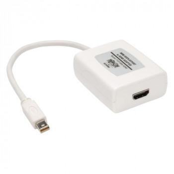 Tripp Lite Mini DisplayPort/HDMI A/V Cable for Audio/Video Device, Projector, TV, Monitor - 15.24 cm